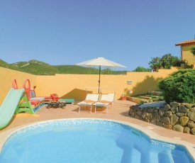 Awesome apartment in Gonnesa w/ WiFi, Outdoor swimming pool and 1 Bedrooms
