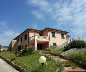 Villa La Ciaccia on the sea