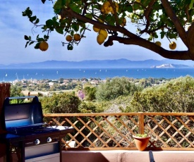 Casa Limone with spectacular view and gasBBQ!